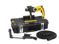 2kg kombi kladivo 800W, 2, 8 J*, 2, 6 kg + sklíčidlo + odsávání + Tough Systém TS 150