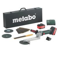 Aku bruska koutových svarů Metabo KNS 18 LTX 150 SET