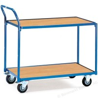 2740 Manipulační vozík s 2 odkládacími policemi - 2740