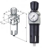 Redukční ventil s filtrem FDM 1/4