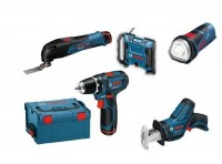 Akumulátorový Set 5 strojů Bosch 10,8 Li-Ion
