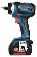 Akumulátorový vrtací šroubovák Bosch GSR 18 V-LI HX 2x 4 Ah