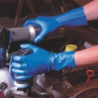 Nitrilové rukavice se speciální vnitřní vrstvou a s technologií