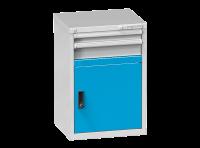 Dvířka zásuvkových skříní ZA a ZE s prahem, DP27-550