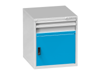 Dvířka zásuvkových skříní ZB a ZD s prahem, DP36-650