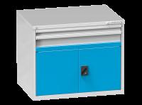Dvířka zásuvkových skříní ZC a ZG s prahem, DP 54-550
