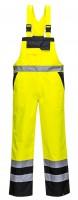 Dvoubarevné laclové kalhoty - nezateplené S488