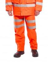 Hi-Vis prodyšné kalhoty RT61