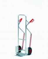 Hliníkový rudl s plastovými rukojeťmi a vyměnitelnými plastovými lyžinami - A1330L