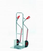 Hliníkový rudl s plastovými rukojeťmi a vyměnitelnými plastovými lyžinami - A1331L