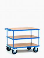 Manipulační vozík se 3 odkládacími policemi - 2422