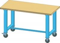Mobilní pracovní stůl MPS, MPS1-715