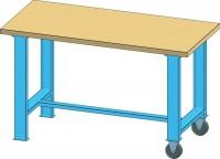 Mobilní pracovní stůl MPS, MPS4-820M