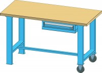 Mobilní pracovní stůl MPS, MPS5-815M