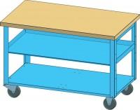 Mobilní pracovní stůl, PPS-1 M