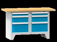 Modulární pracovní stůl, PS 1-1 M