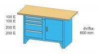 Modulární pracovní stůl, PS1-2