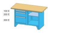 Modulární pracovní stůl, PS1-4M