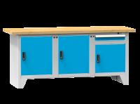 Modulární pracovní stůl, PS2-4M