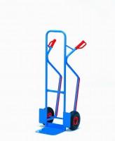 Ocelový rudl s plastovými rukojeťmi a vyměnitelnými plastovými lyžinami - B1330L