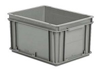Plastová přepravka ATHENA 400x300x220 mm - recyklát