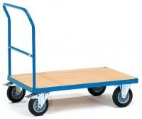 Plošinový vozík, ložná plocha 1000x600 mm - 2501