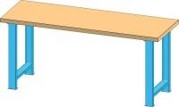 Pracovní stůl KOMBI, AM4815