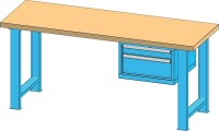 Pracovní stůl KOMBI, BB4715