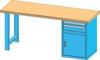 Pracovní stůl KOMBI, DB4820