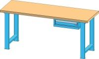 Pracovní stůl KOMBI, PB5720