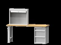 Roletová skříň ke stolní desce, SR3S