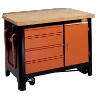 Stůl pracovní pojízdný, 1450L-SP