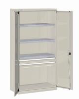 Skříň na nářadí s křídl.dveřmi, 1026x555x2000mm, V, 24-32000-08