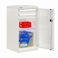 Skříň na nářadí s křídl.dveřmi, 512x555x1000mm, V, 24-11000-07