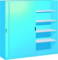 Skříň na nářadí se zasouvacími dveřmi, 2052x600x2000mm