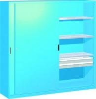 Skříň na nářadí se zasouvacími dveřmi, 2052x600x2000mm V