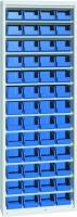 Skříň na plast.bedny, bez dveří, 700x270x2000mm, 21-10200-24