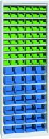 Skříň na plast.bedny, bez dveří, 700x270x2000mm, 21-10200-34