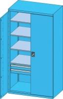 Skříň s křídlovými dveřmi, SK1-002