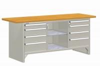Stůl pracovní MODULAR, standardní provedení, 42-84207-01