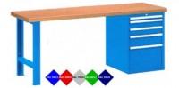Stůl pracovní na nářadí, 1500 mm, 44-80157-007
