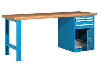Stůl pracovní na nářadí, 1500 mm, 44-80157-010