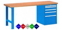 Stůl pracovní na nářadí, 1750 mm, 44-80177-007