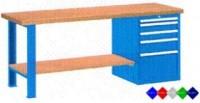 Stůl pracovní na nářadí, 1750 mm, 44-80177-019