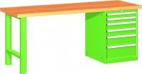 Stůl pracovní na nářadí, 2000 mm, 44-80207-008