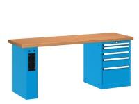 Stůl pracovní na nářadí, 2000 mm, 44-80207-011