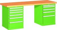 Stůl pracovní na nářadí, 2500 mm, 44-80257-012