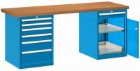 Stůl pracovní na nářadí, 2500 mm, 44-80257-013