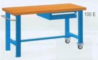 Stůl pracovní pojízdný, 2xstol.noha, 1xzásuvka 150mm, 2000mm