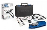 Univerzální sada mikronářadí DREMEL 4000 Series EZ Wrap case, 65ks přísl., ohebná hřídel, kufr